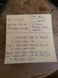 Teoretická príprava drop bagov